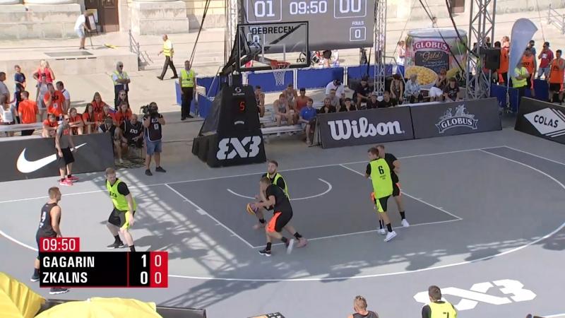 FIBA 3x3 World Tour 2018 Debrecen Gagarin VS ZKalns Ghetto 30 08 2018