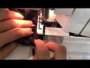 Как закончить аккуратно строчку оверлока , если шьём вкруговую ?