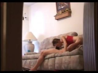 Couple filmed by hidden camera