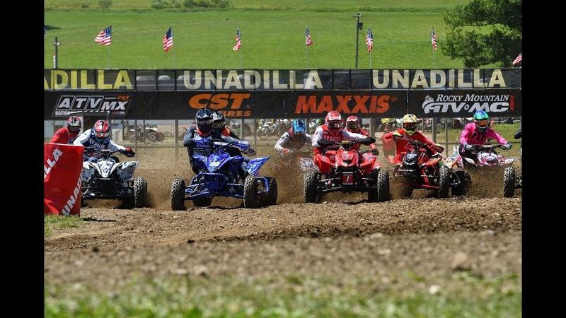 Unadilla - ATV Motocross National Series - Full Episode 8 - 2018