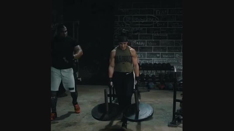 Amazing workout with Tony Sentmanat