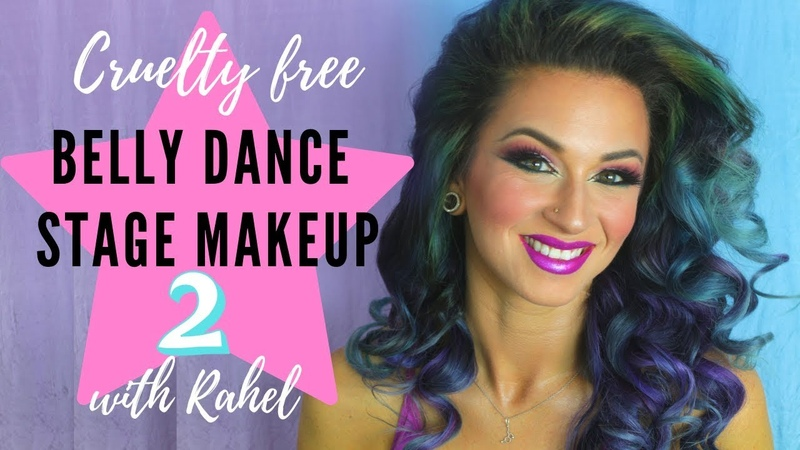 Belly Dance Stage Makeup Tutorial 2.0 - Cruelty Free