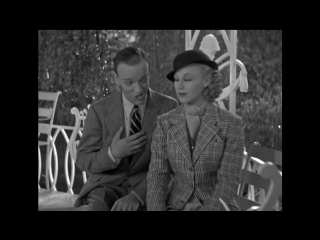 Fred Astaire and Ginger Rogers - Isn't this a lovely day (To Be Caught in the Rain) Фрагмент с Х/Ф