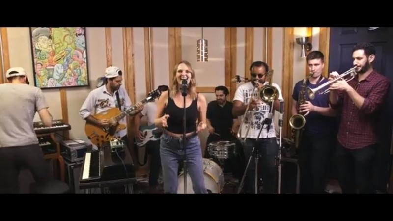 Moondance Van Morrison FUNK cover featuring Gabriela Welch