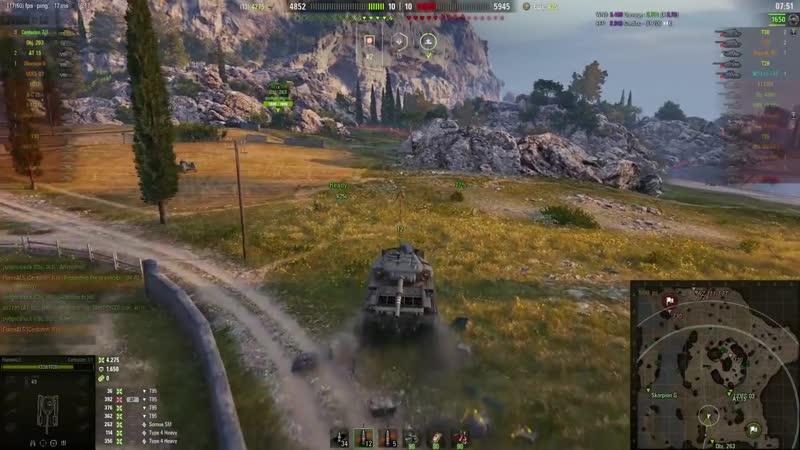[Lacho WoT Replays] World of Tanks Centurion Mk. 7/1 - 8 Kills 8,6K Damage
