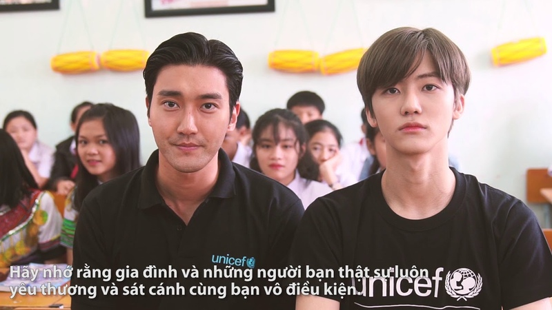 Message from Siwon Choi and Jaemin Na on World Childrens Day
