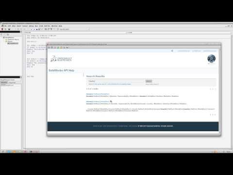 Solidworks API. Ручное создание макроса