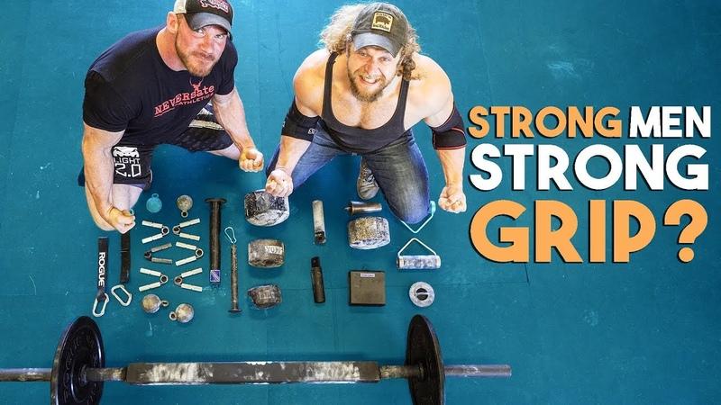 CHAMPION STRONGMAN vs GRIP STRENGTH GAUNTLET