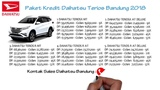Kredit Daihatsu Terios Bandung DP dan Cicilan Oktober 2018 082127725181