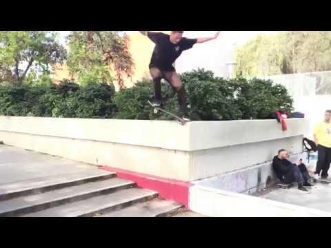 Sugar Skateboards Zander Gabriel Kills the Courthouse Ledge