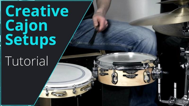 Build a Cajon Drum Set, thats how it works! Workshop Tutorial