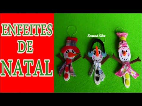 DIY 3 IDÉIAS DE NATAL RECICLÁVEIS COM PALITOS DE PICOLÉ - VÍDEO 3