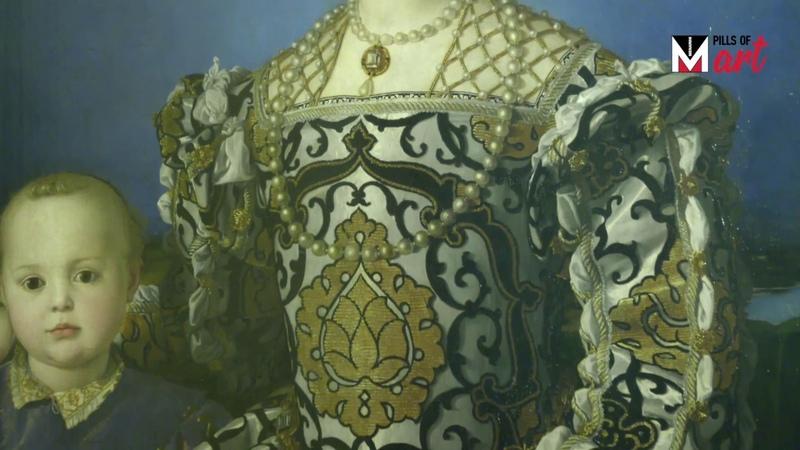 Menarini Pills of Art Eleonora di Toledo col figlio Giovanni di Agnolo Bronzino versione italiana