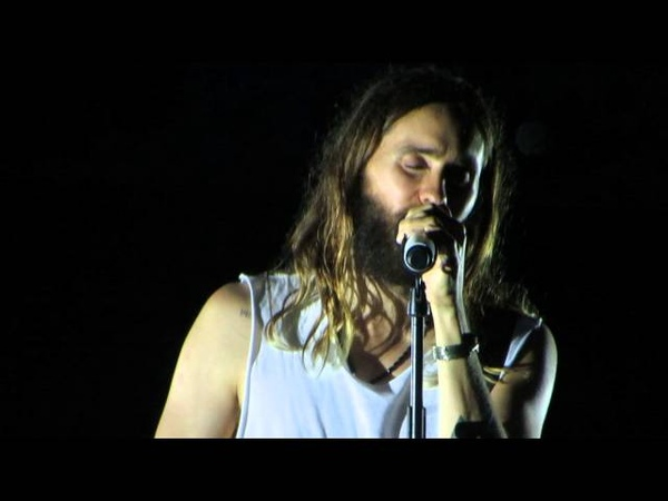 30 Seconds to Mars Guillotine Old Blues Song Church of Mars France July 24th 2014