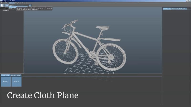 3D Object Scatter 0.2.5