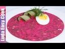Вкуснейший ХОЛОДНЫЙ БОРЩ по маминому рецепту! В жару то, что надо! | Summer Borscht Recipe