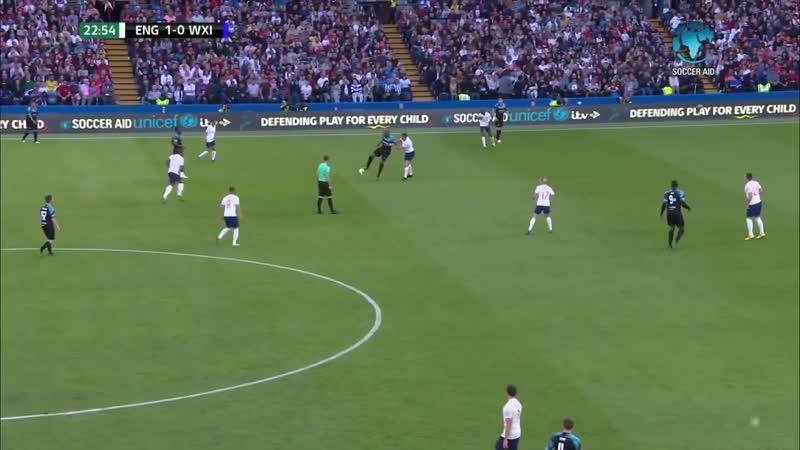 Soccer Aid 2019 England vs Rest of World XI (Full Match) 160619