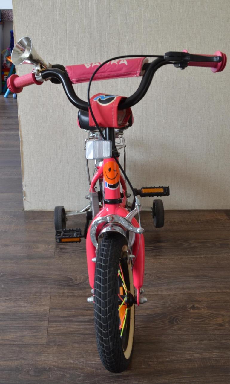 Велосипед для девочки.