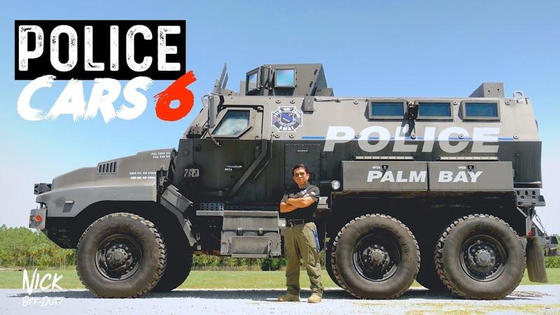 Police Patrol Vehicle - MRAP SWAT TRUCK (обзор полицейского бронеавтомобиля, 2019, US, Palm Bay Police Department)