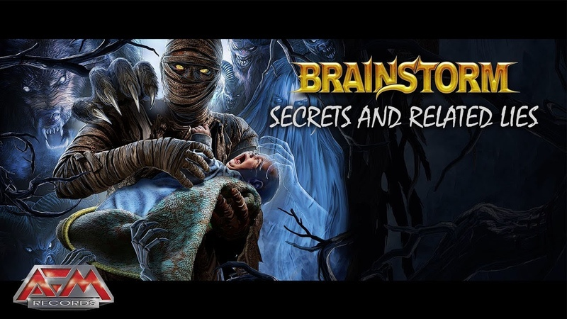 BRAINSTORM - Secrets And Related Lies (2019) Official Audio Video AFM Records