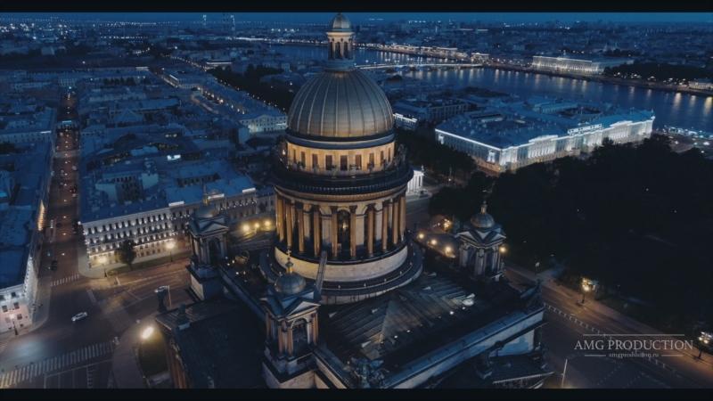 Night Shooting Saint Petersburg 4K Ultra HD (AMG Wedding)