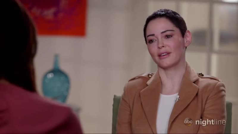 Rose McGowan describes alleged rape by Harvey Weinstein_ Nightline Part 1