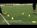 Sfida sul dominio e il controllo della palla - 15 di esercizi a coppia