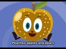 Peaches, Apples and Pears | Family Sing Along - Muffin Songs