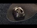 Пошаговая установка стреплоков Dunlop StrapLok Strap Retainers