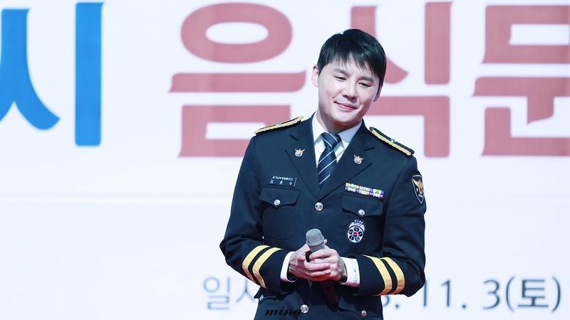 [4K] 181103 평택음식문화경연대회 경기경찰홍보단 김준수 XIA 그대가나이기에