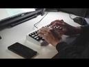 Typing RAMA M60-A w/ Lubed 58g retooled blacks