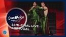 Portugal - LIVE - Conan Osiris - Telemóveis - First Semi-Final - Eurovision 2019