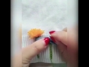 Вышиваем одуванчики