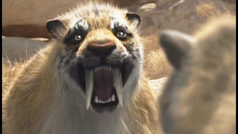 Smilodon VS thylacosmilus - ZAPPING SAUVAGE