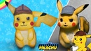 DIY - How to make Detective Pokemon Pikachu Figure - Polymer Clay
