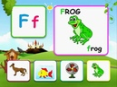 Alphabet reading for kids with words - F