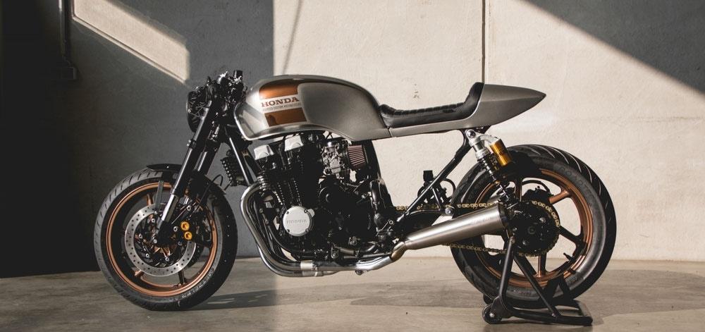 Kaspeed Moto: кафе рейсер Honda Nighthawk 750