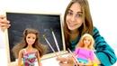 Барби игры на канале для девочек. Украшаем кисточки для куклы