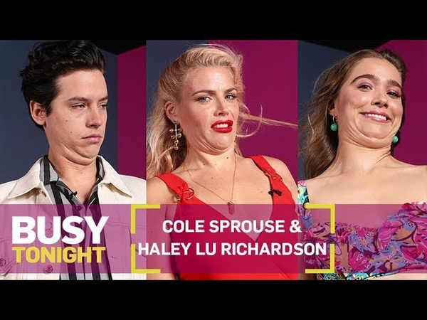 Cole Sprouse Haley Lu Richardson on the Art of the Unglamour Shot   Busy Tonight   E!