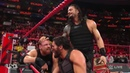 RAW 15 OCT 2018 The Shield vs. Dogs of War