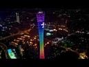 China Canton Tower Lights Show Guangzhou Night View Guangzhou Travel Video 4k