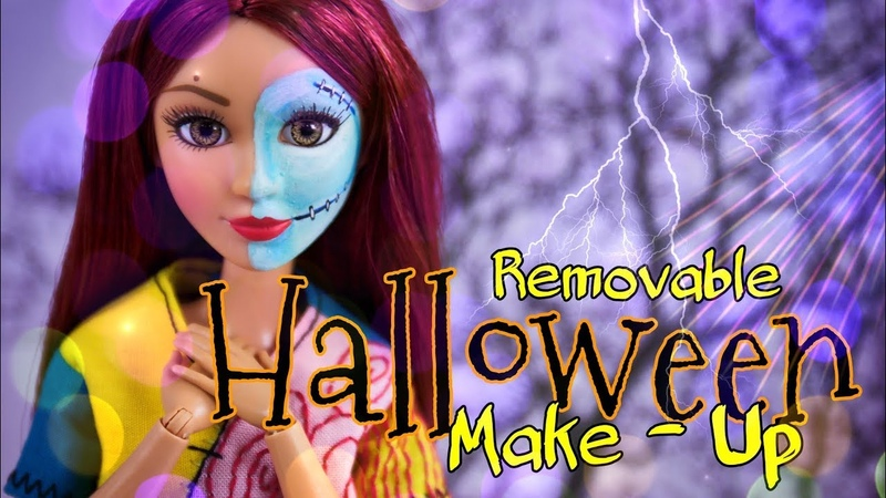 DIY - How to Make REMOVABLE Halloween Make Up | Halloween Hacks