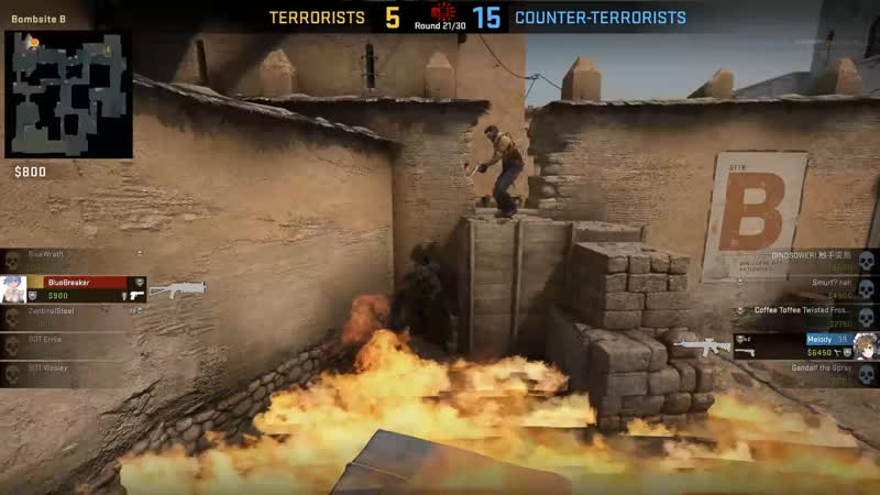 The Most Silver Defuse In CSGO History