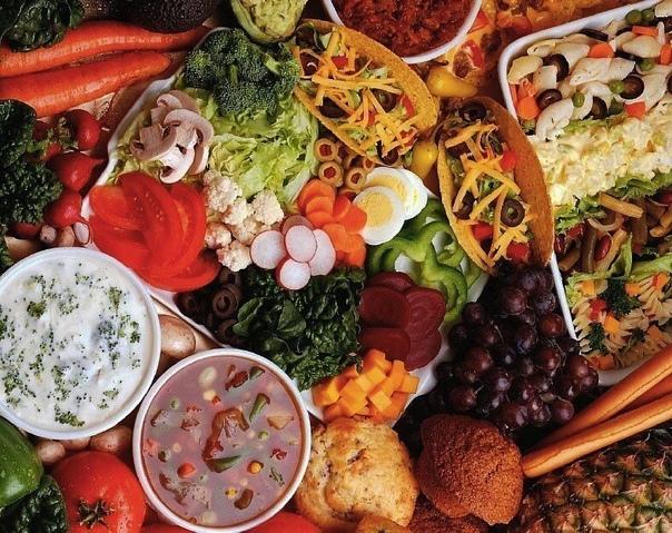 Правильное питание меню на неделю