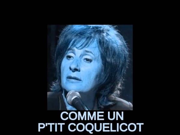 MARIE PAULE BELLE COMME UN P'TIT COQUELICOT