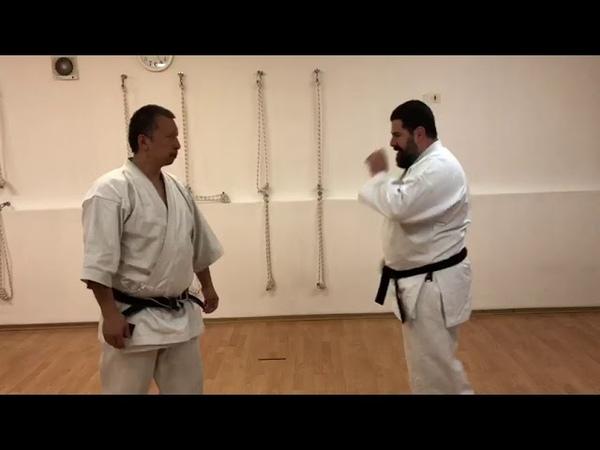 Wa uke Uechi ryu karate for kumite sparring / Sensei Totibadze 8 Dan