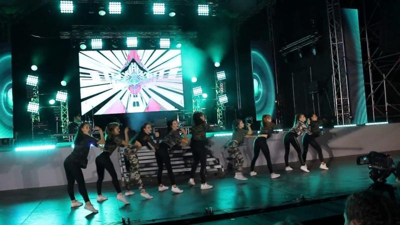 Танцевальный коллектив современной хореографии SOUL DANCE День города Полтава