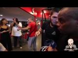 ХАБИБ С КОРМЬЕ И РОКХОЛДОМ ГОТОВИТСЯ К БОЮ С КОНОРОМ НА UFC 229 В ЗАЛЕ АКА