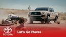 Let's Go Places Tough as Chuck Toyota