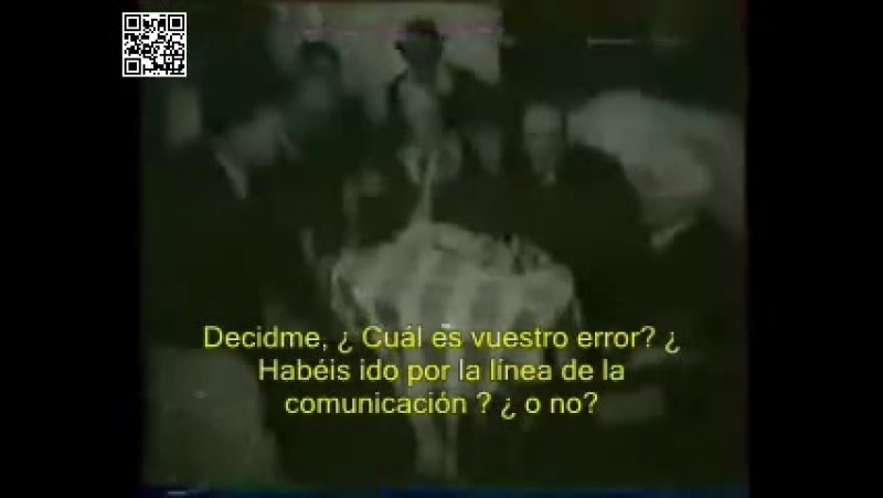 Stanislavski dirigiendo El Tartufo con subtítulos en español